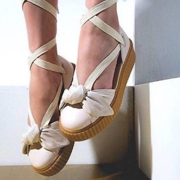 online store 893ec a00f3 Puma Fenty by Rihanna Bow Creeper Sandal